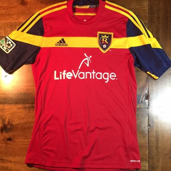 0232f122e63 adidas Shirts | Real Salt Lake Jersey | Poshmark
